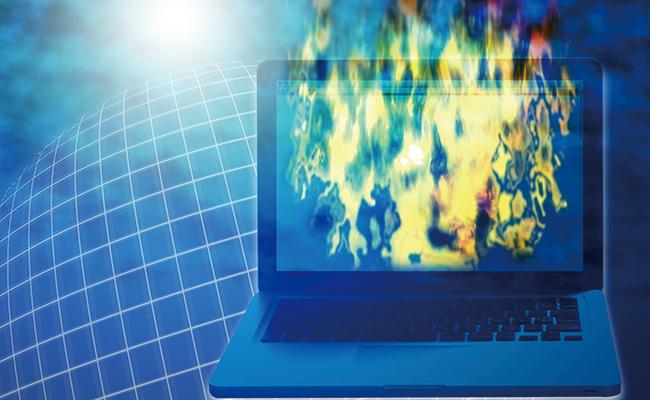 ネット炎上のイメージ