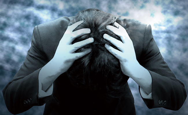 謂なき悪評に頭を抱える会社役員